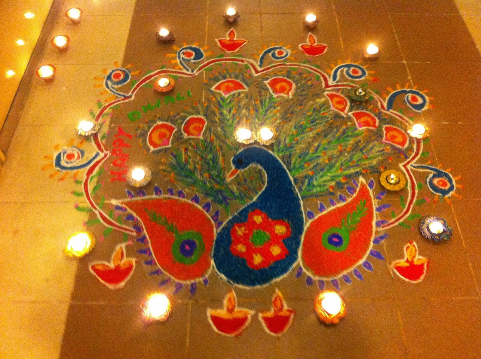 Diwali 2015 rangoli designs for diwali traditional rangoli diwali is a festival of lights as we all know and we burn firecrackers also wish happy deepavali to your family also m4hsunfo