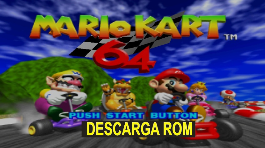 Mario Kart 64 n64 descarga rom