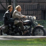 Harrison Ford  celeb on motorcycles