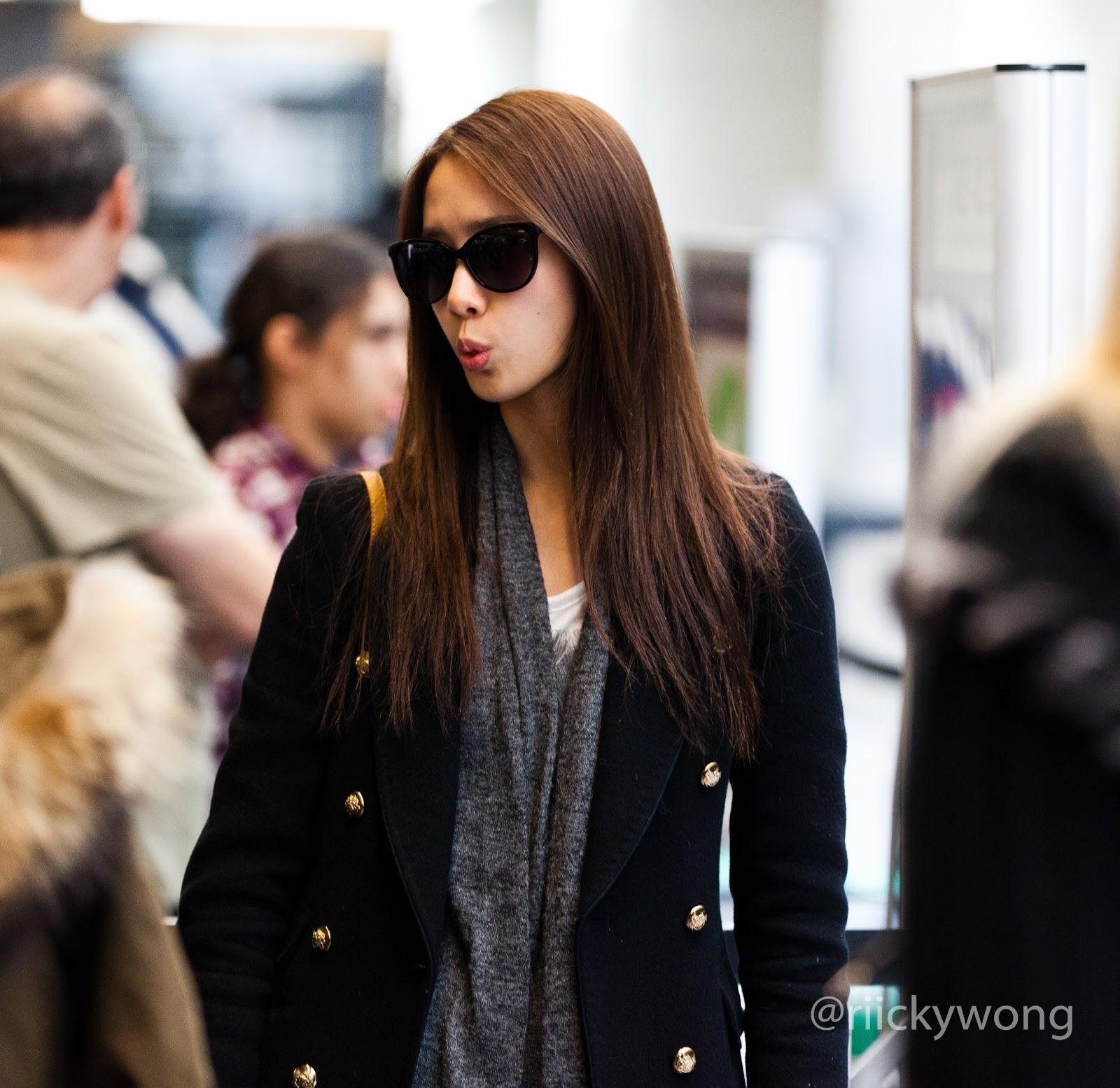 My K-Pop Database: 120206 SNSD Airport Fashion