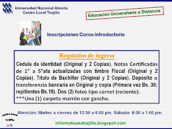Curso Introductorio: Requisitos