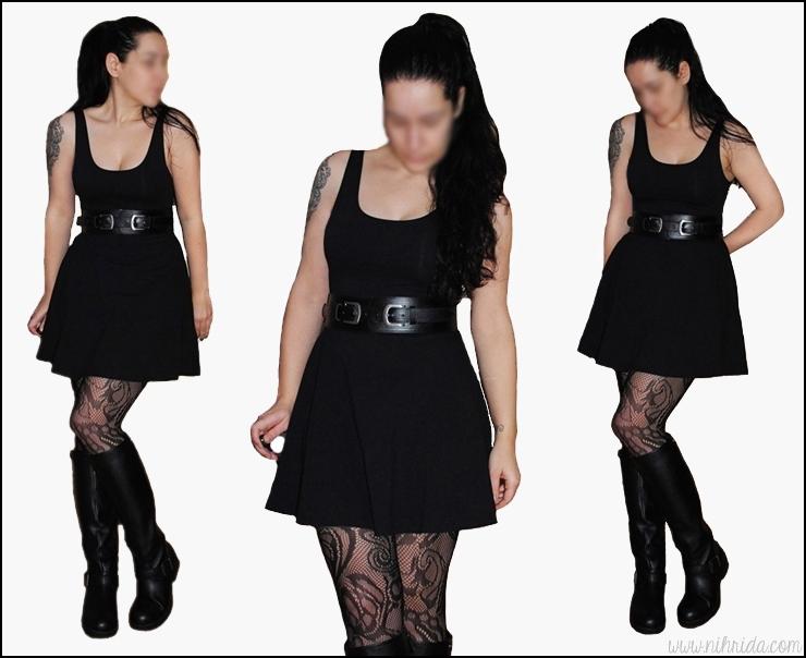 PErsunmall Little Black Dress