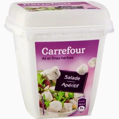 Fromage ail & fines herbes - Salade & Apéritif http:// matbakh-oumzakino.com