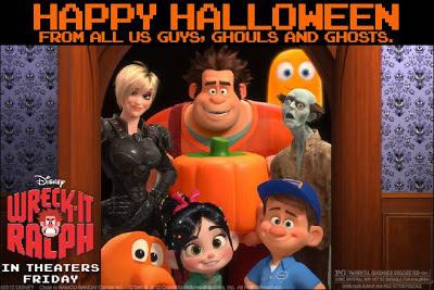 #WreckItRalph halloween