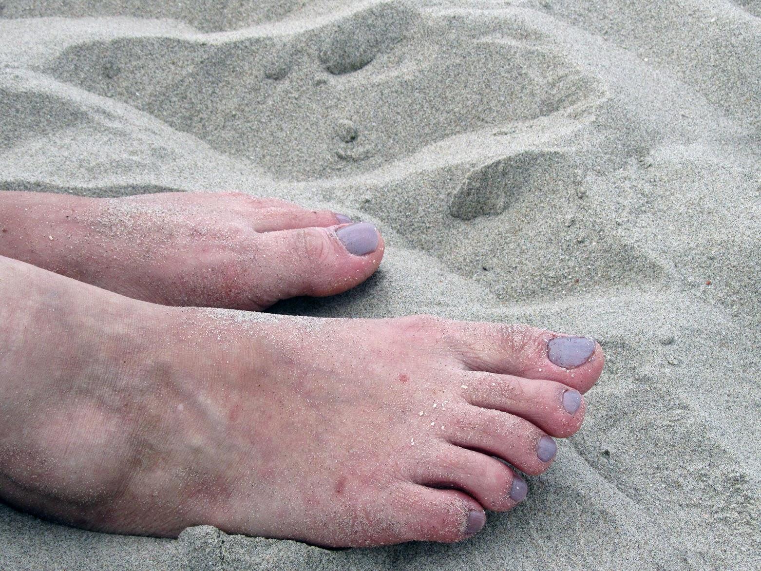 my sister's feet