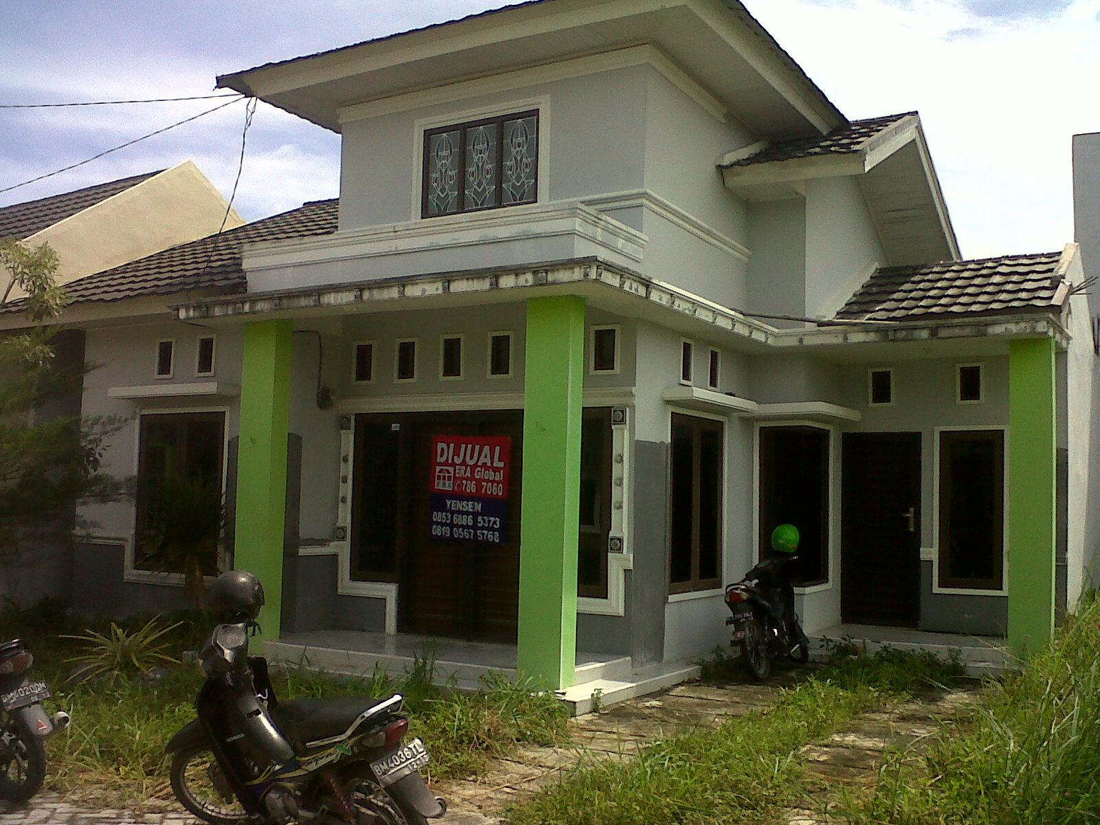 Dijual Rumah Lelang Jalan Tuah Karya Panam Perumahan Anggrek