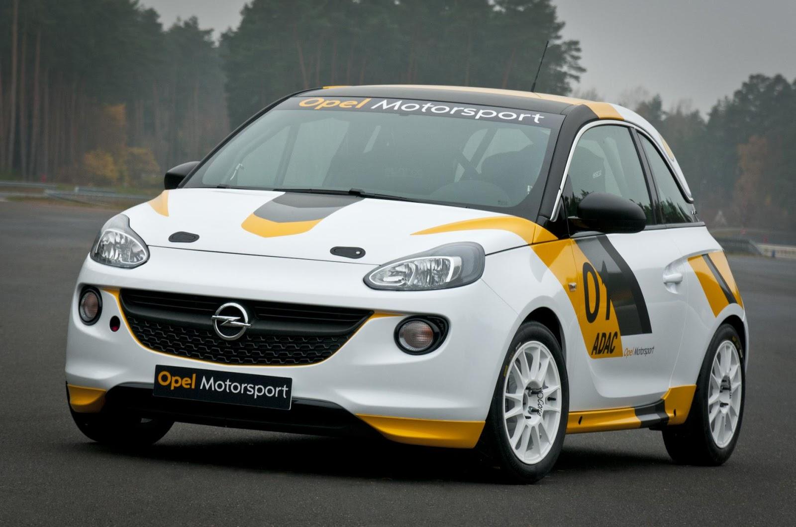 Speedmonkey: Vauxhall/Opel ADAM rally car