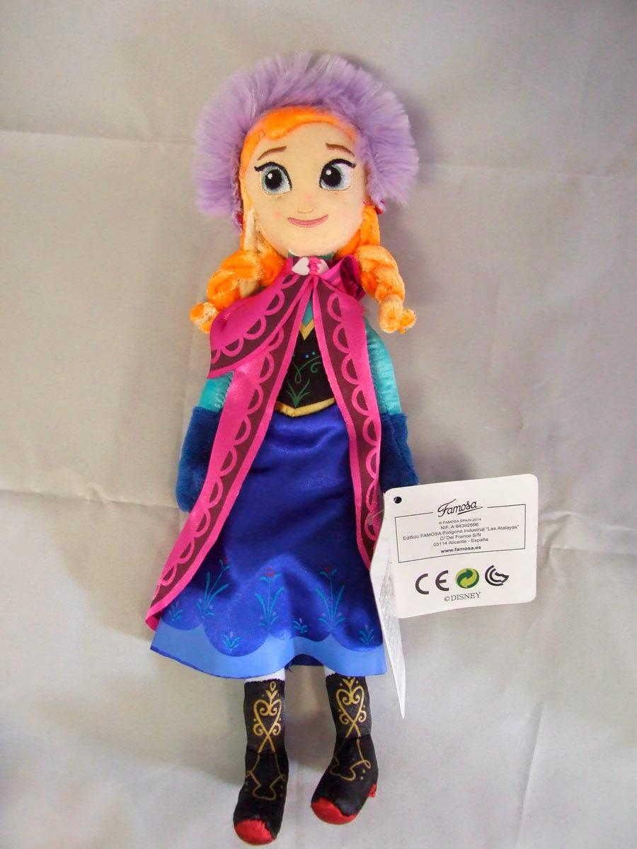 Peluche Disney Anna de Frozen El Reino de Hielo