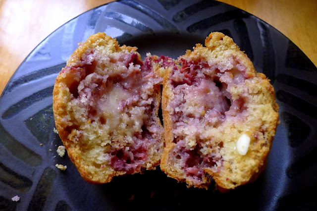 Alpine Strawberry Muffin