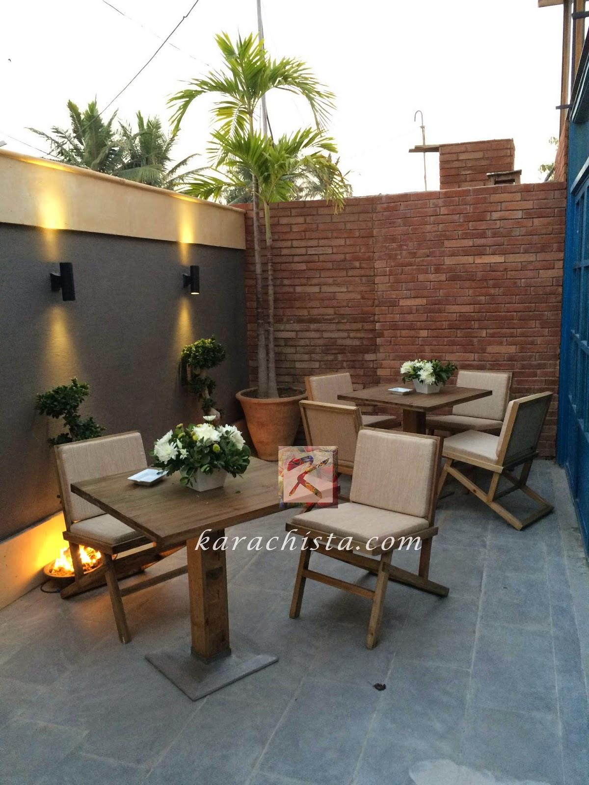 Garden Furniture Karachi mews – karachi's newest upscale cafe reviewed - karachista