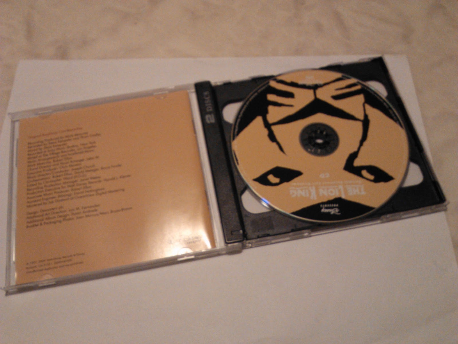 singapraise  the lion king musical cd