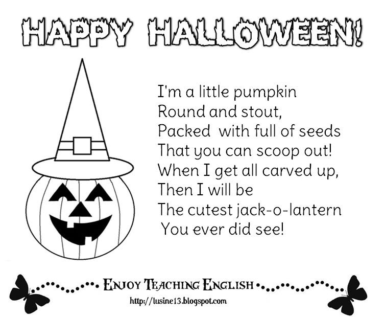 Enjoy Teaching English: October 2012
