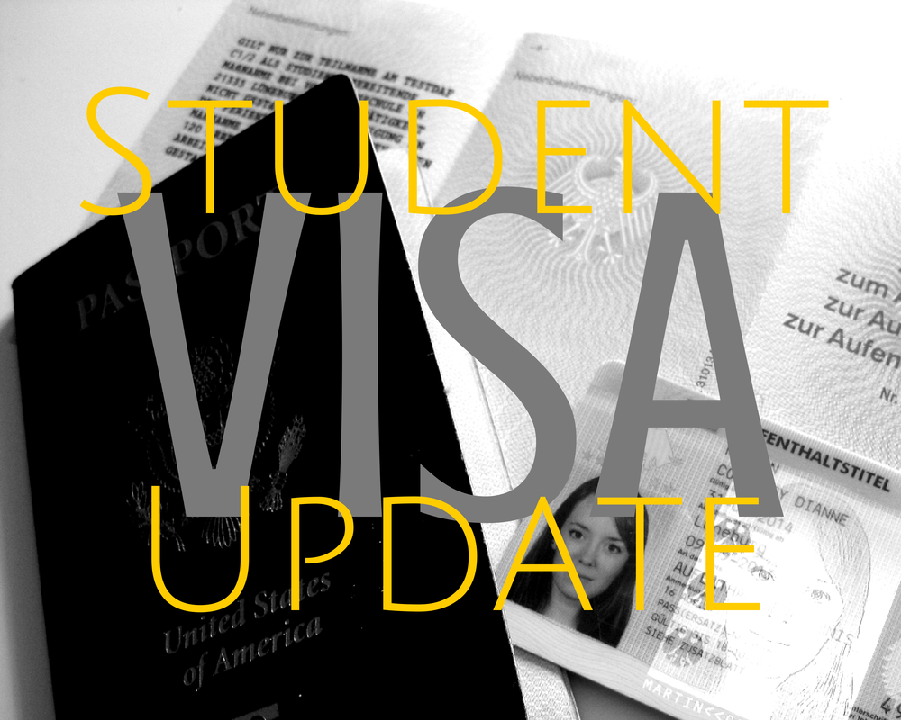 German student visa update