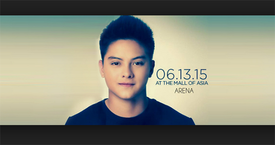 Daniel Padilla 3rd Concert on Mall of Asia this June 2015