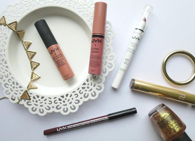 Nyx cosmetics makeup lips eyes haul