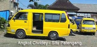 Angkot Jurusan Ciwidey - Situ Patengang