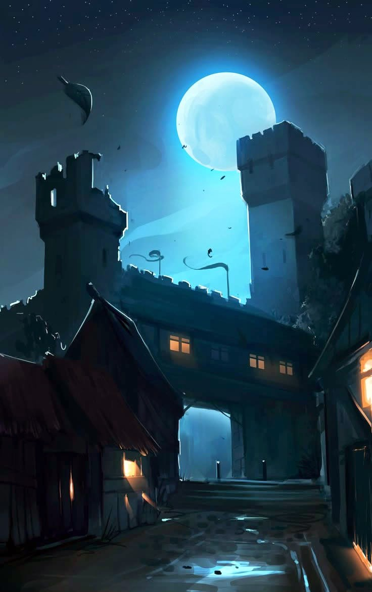 Castlemoon by ~Callesw on deviantART
