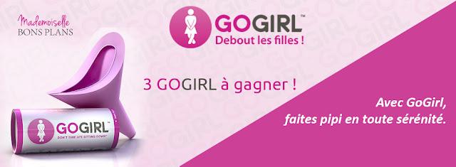 Jeu GoGirl et Mademoiselle Bons Plans: 3 GoGirl à gagner