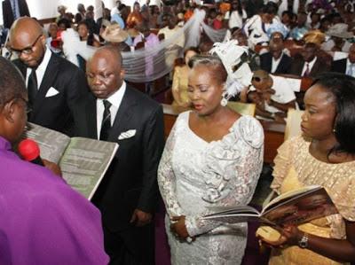 Governor Emmanuel Uduaghan wedding