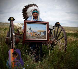 Volunteering on the Blackfeet Indian Reservation with Global Volunteers
