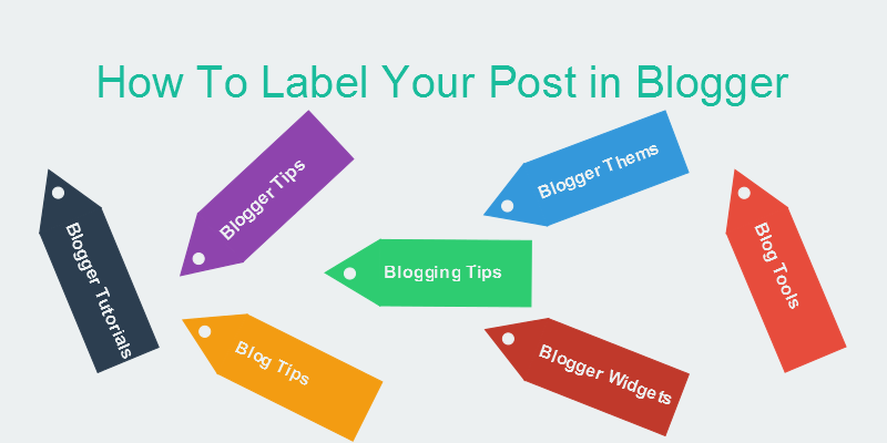 Label Your Post in Blogger