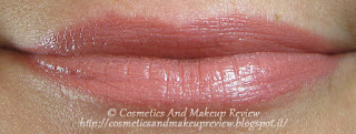 Benecos - Natural Lipstick Peach - swatches