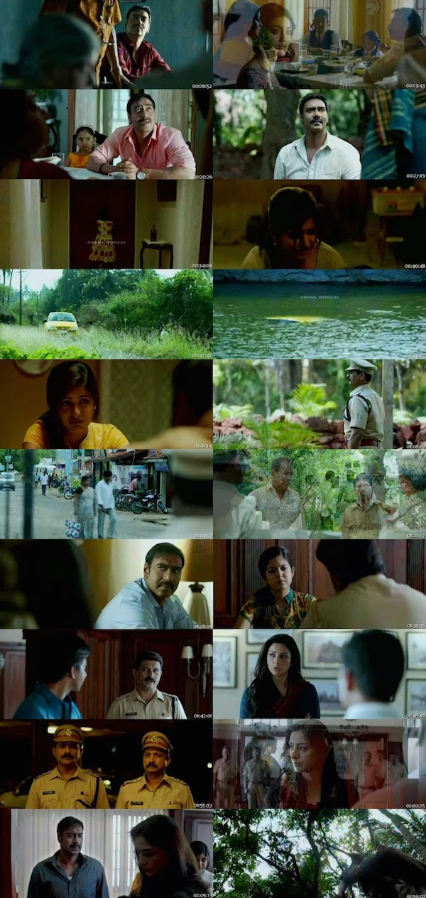 Drishyam Hindi DVDScr 300mb
