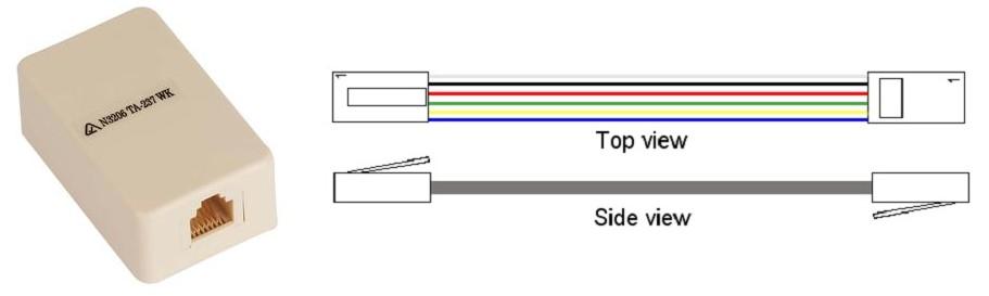 wiring a rj12 rj11 jack wiring  u2022 mifinder co