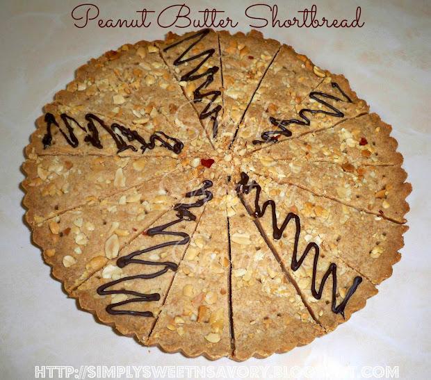 peanut butter shortbread rich and delicious shortbread with peanut ...