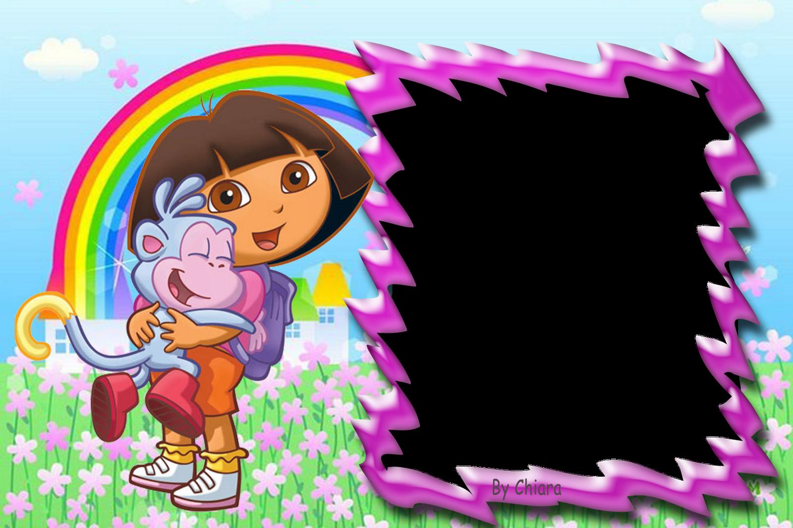 Marcos para fotos digitales de Dora la Exploradora. Bordes para ...