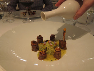 Rack of Lamb at Enoteca Barcelona