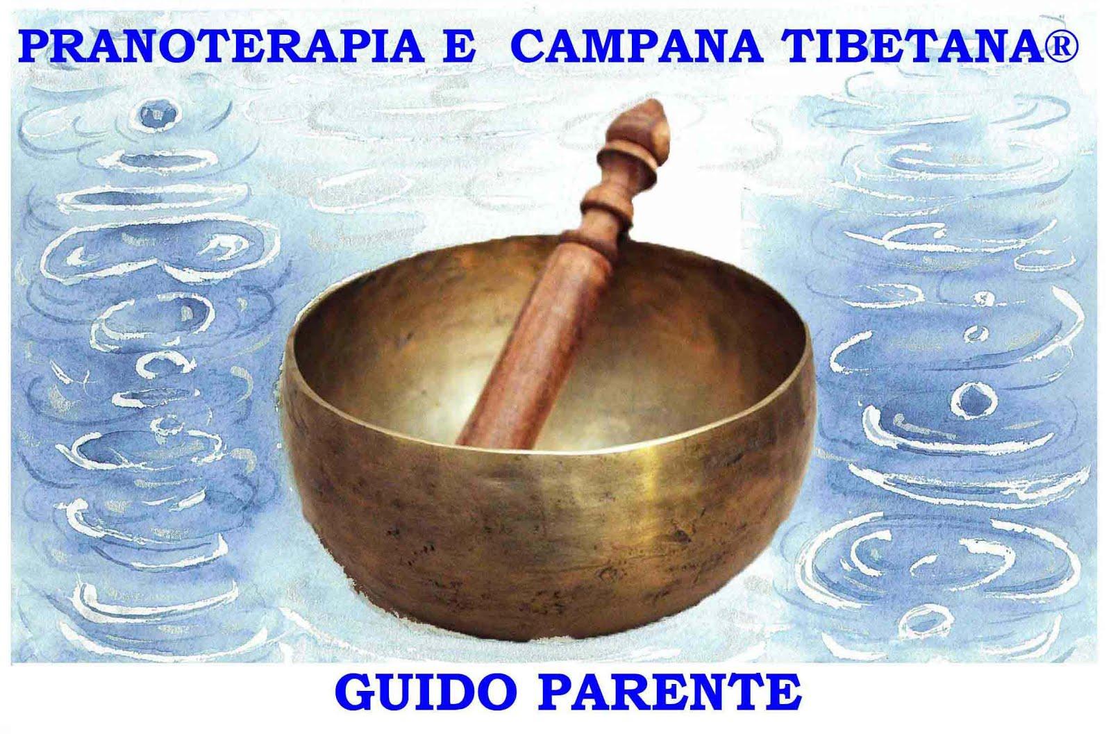 Pranoterapia e Campana Tibetana