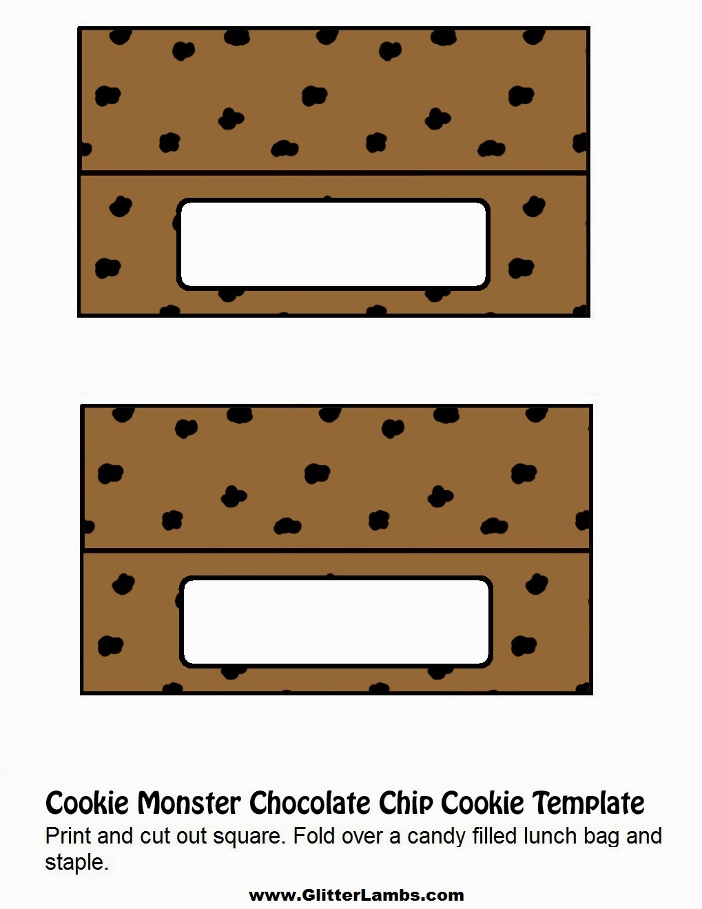 It's just an image of Enterprising Cookie Template Printable