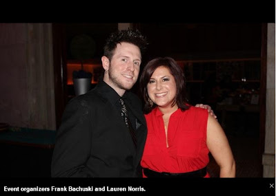 Frank Bachuski, Lauren Norris, 50 Finest, Casino for a Cure, Cystic Fibrosis Foundation, Pittsburgh