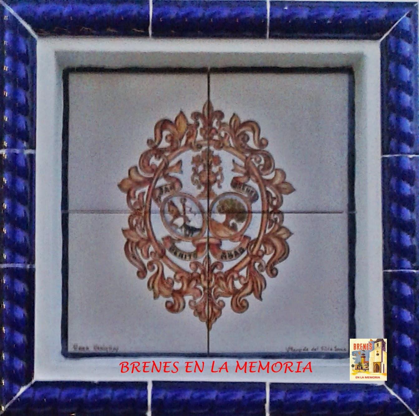 Brenes en la memoria monumento al peregrino de san benito - Azulejos el pilar ...