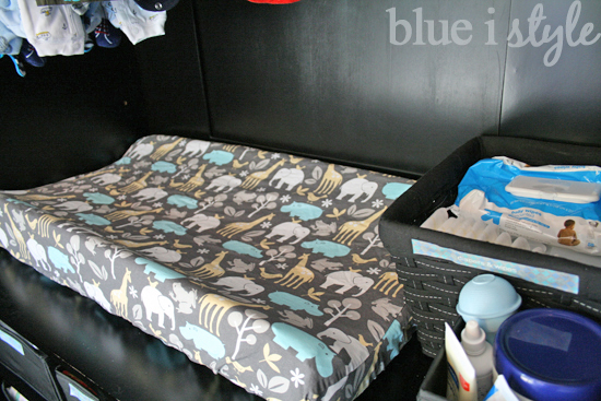 Baby Changing Pad In Armoire