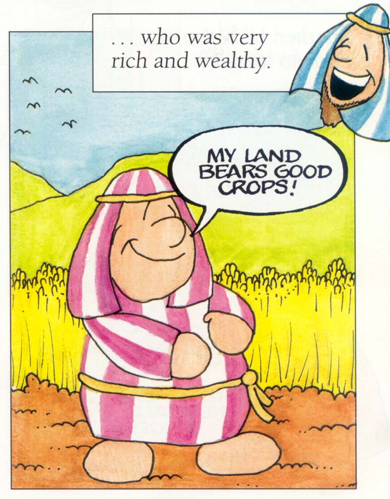 Mis recursos para el aula the parable of the rich fool for Parable of the rich fool coloring page