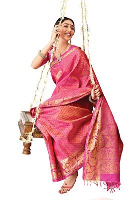 RMKV Bridal Seven Sarees designs