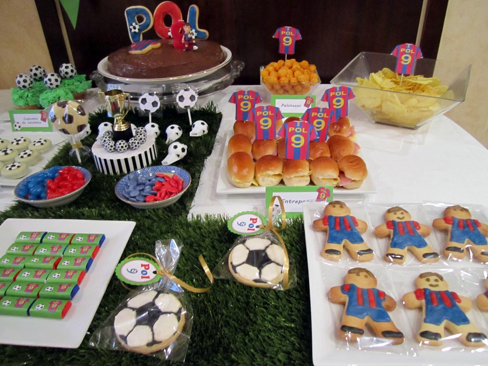 Mardefiesta fiesta f tbol - Decoracion infantil barcelona ...