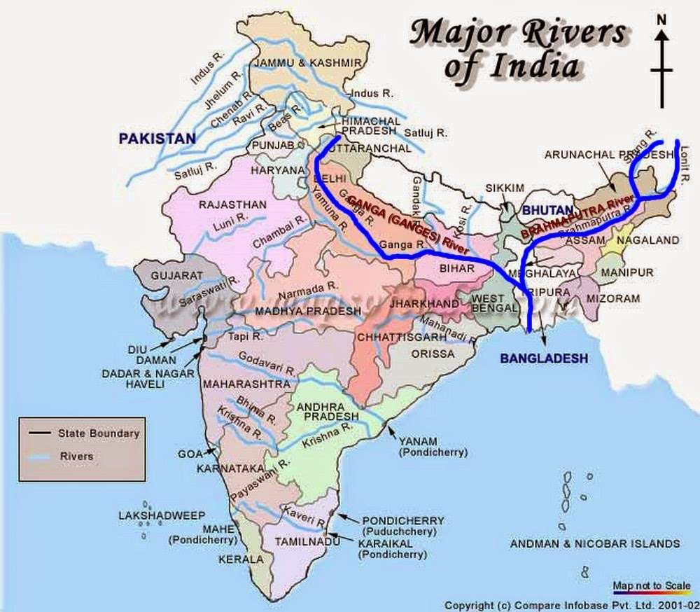 indian river and its tributeries Ganges river: ganges river, great river of the plains of the northern indian subcontinent  the ganges river and its main tributary, the yamuna river.