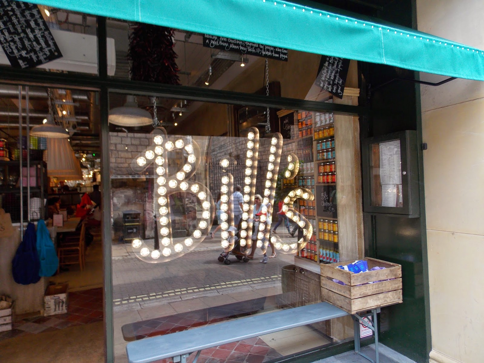 Bill's Restaurant, Coney Street, York