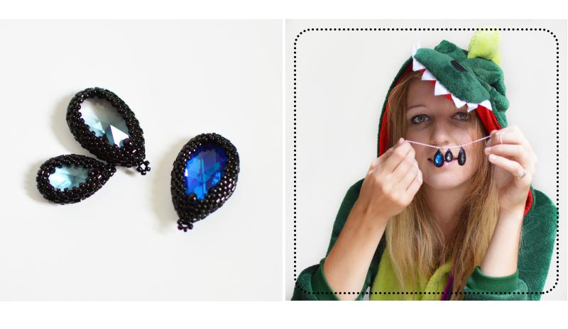 Biżuteryjki grają dla WOŚP: Kolia deszczowa