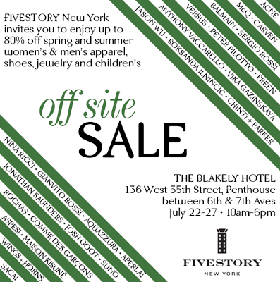 Save the Date: Fivestory Clearance Sale