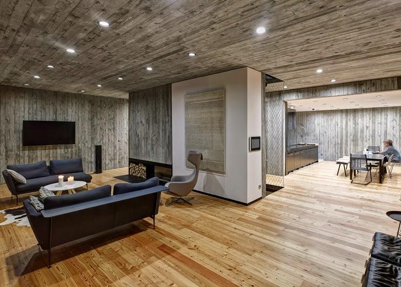 Casas minimalistas y modernas casa minimalista en for Casa minimalista vidrio