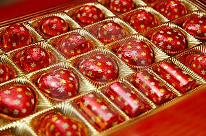 шоколадные конфеты, День Валентина