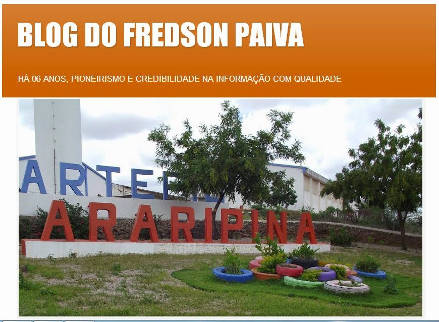 BLOG FREDSON PAIVA