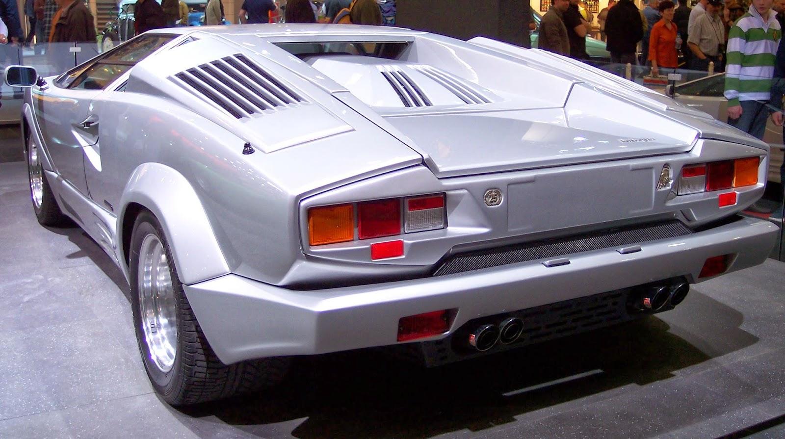The Lamborghini Countach 25th Anniversary Edition Blueiskewl