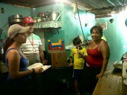 Familias de San Miguel fueron censadas para participar en venta programada de cemento