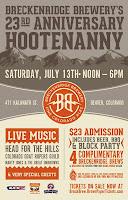 Breckenridge Brewery 23rd Anniversary Hootenanny