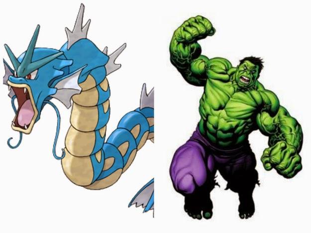 Hulk - Gyarados